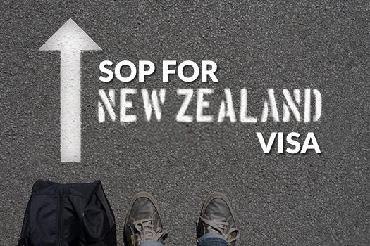 SOP for New Zealand Visa