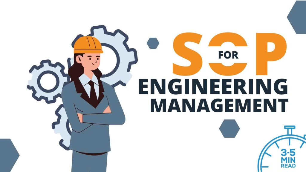 SOP for engineering admission