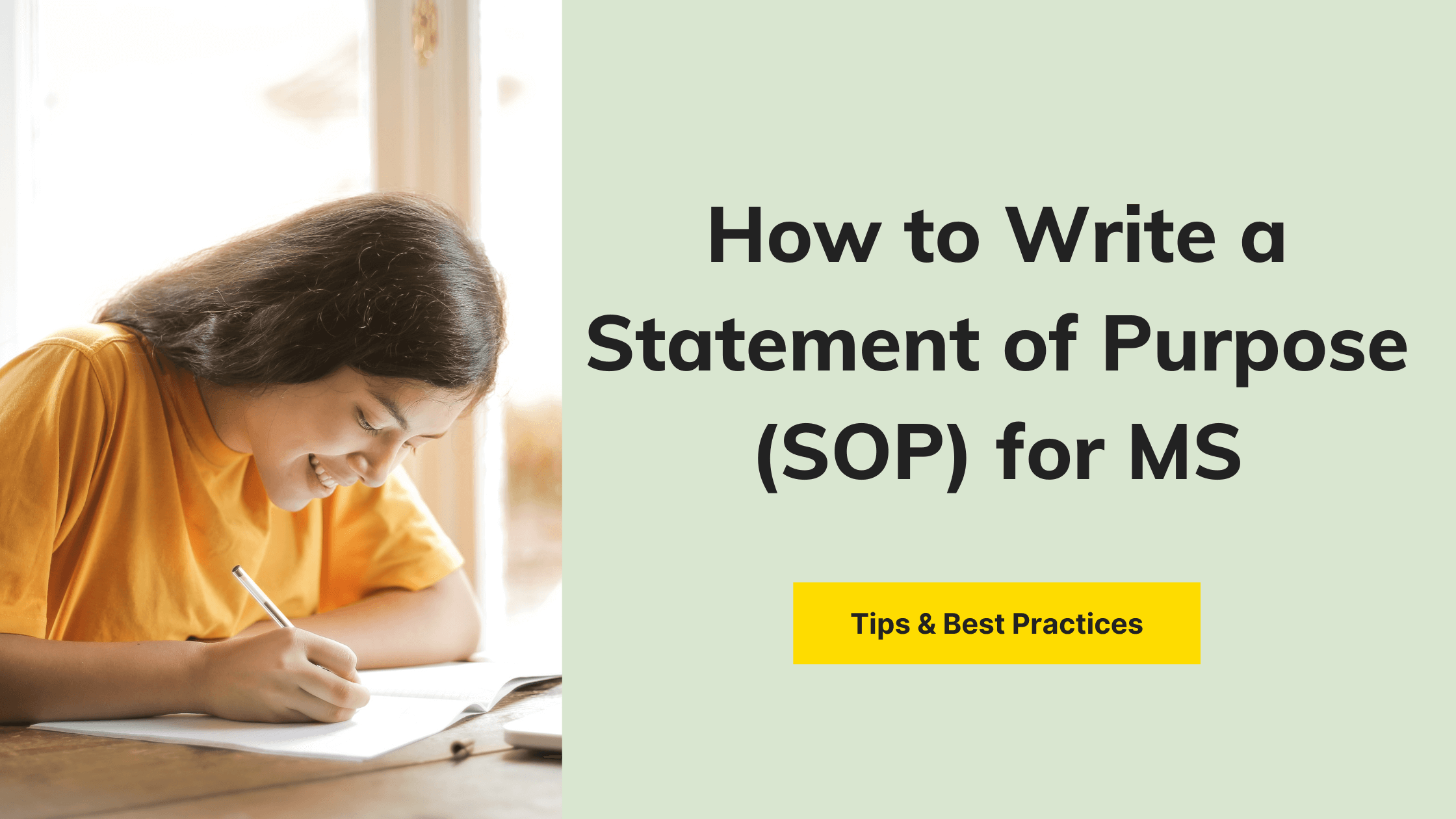 Sop for Masters Degree